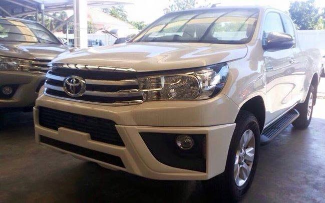 HILUX REVO FRONT CHIN