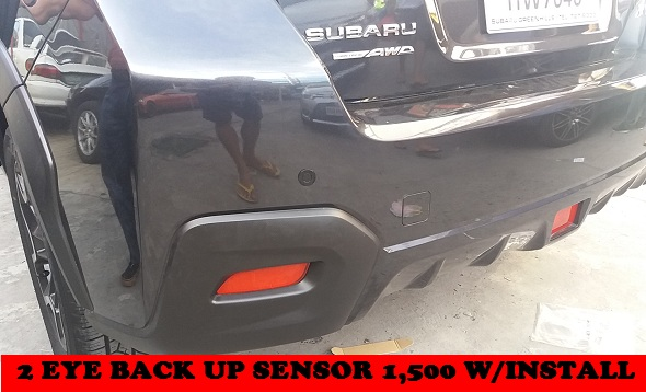 BACK UP XV BACK UP SENSOR