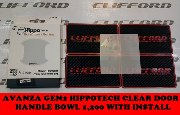 AVANZA HIPPOTECH CLEAR DOOR HANDLE BOWL
