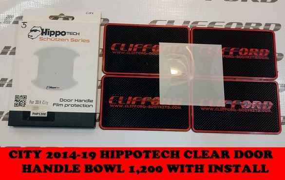 CITY GM6 HIPPOTECH CLEAR DOOR HANDLE BOWL