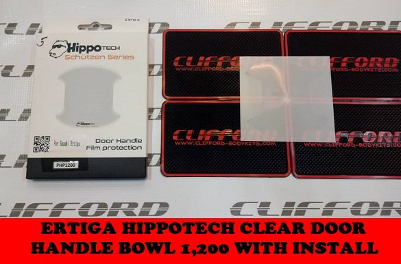 ERTIGA HIPPOTECH CLEAR DOOR HANDLE BOWL