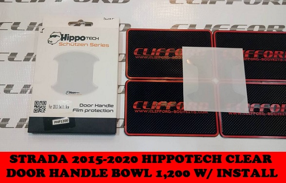 SWIFT HIPPOTECH CLEAR DOOR HANDLE BOWL