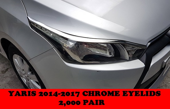 CHROME TRIMS YARIS 2014-2017