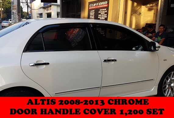 CHROME DOOR HANDLE COVER ALTIS