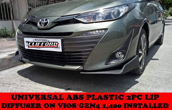 UNIVERSAL 2PC LIP DIFFUSER ON VIOS GEN4