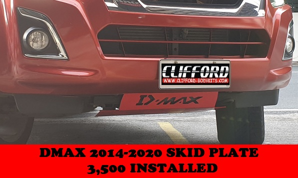SKID PLATE D MAX 2014-2020