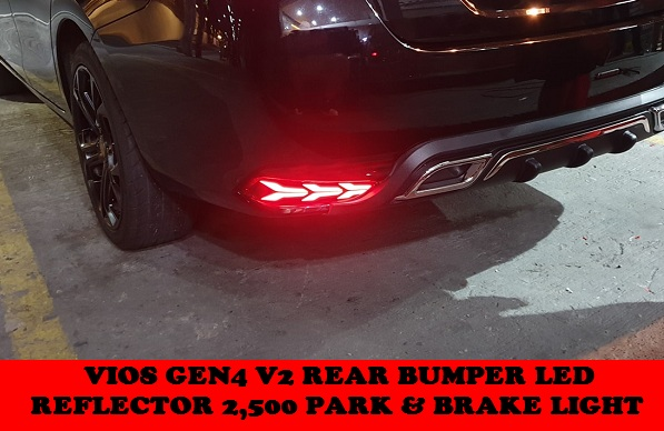 V2 REAR BUMPER LED VIOS GEN4 2018-2020