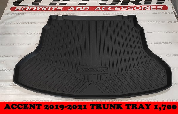 TRUNK TRAY ACCENT 2019-2021