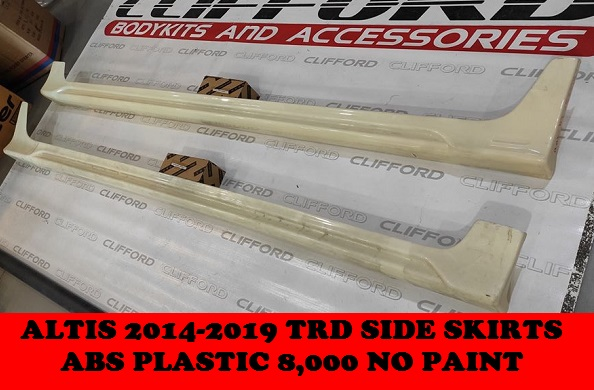 ABS PLASTIC TRD SIDE SKIRTS