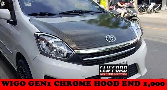 CHROME HOOD END WIGO GEN1