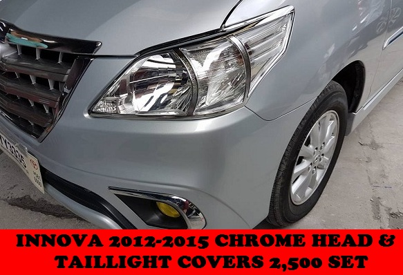 CHROME TRIMS INNOVA 2005-2015