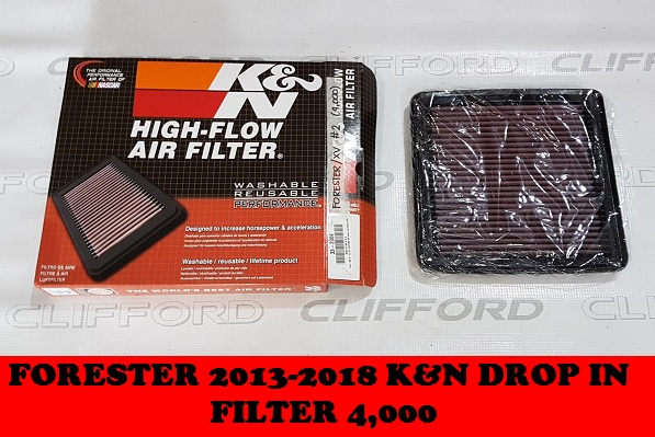 K&N DROP IN FILTER FORESTER 2013-2018
