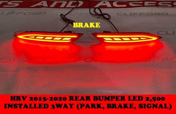 REAR BUMPER LED REFLECTOR HRV