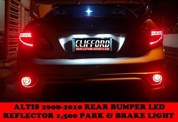 REAR BUMPER LED ALTIS 2008-2010