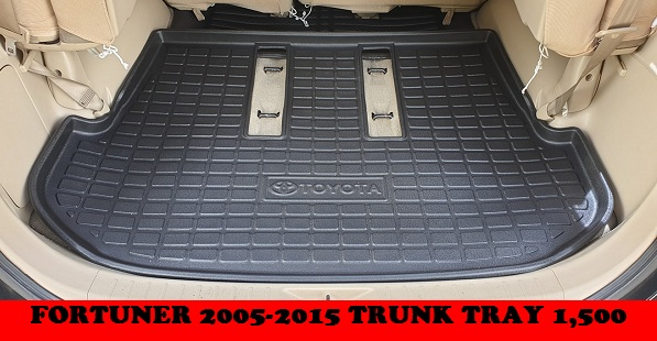 TRUNK TRAY FORTUNER 2005-2015