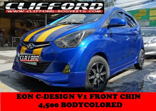 Welcome CLIFFORD: Paint and Bodykits!